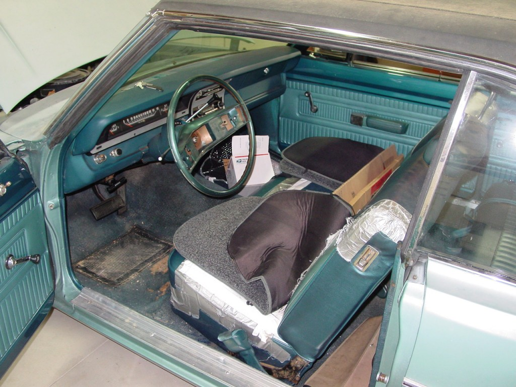 Driver's side seat worn out