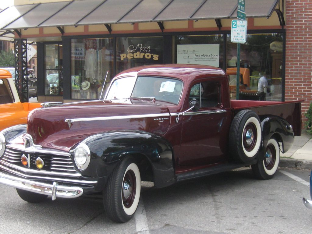 1946 Hudson Pickup, club pick 2016