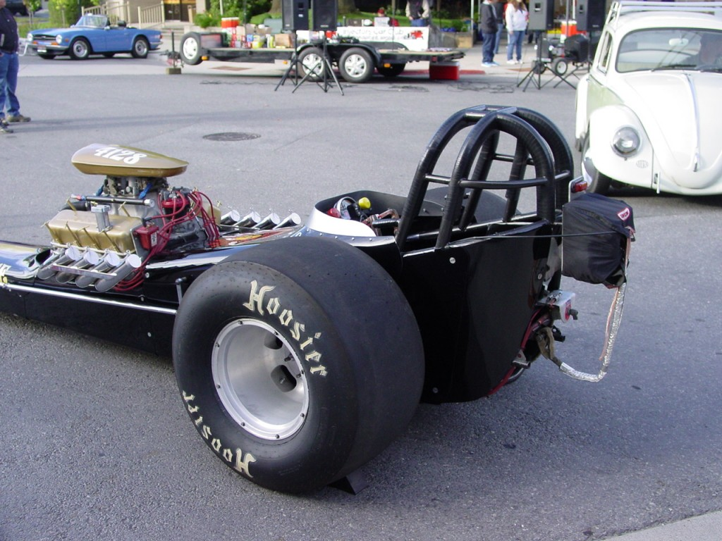 Ron Kauble's dragster